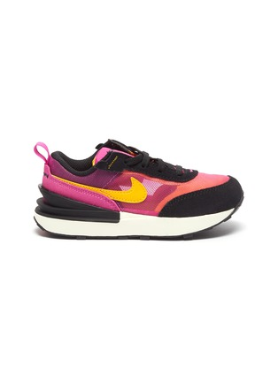 Main View - Click To Enlarge - NIKE KIDS - 'Waffle One' Mesh Upper Elastic Lace Toddler Sneakers