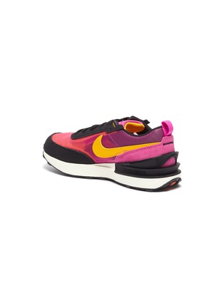 Detail View - Click To Enlarge - NIKE KIDS - 'Waffle One' Mesh Upper Kids Sneakers