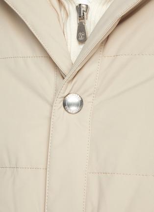 - BRUNELLO CUCINELLI - Hooded Nylon Down Vest