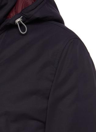 - BRUNELLO CUCINELLI - Padded lightweight gabardine parka jacket