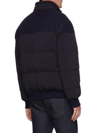 Back View - Click To Enlarge - BRUNELLO CUCINELLI - Taffeta micro bi-stretch nylon down jacket