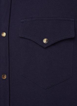 - BRUNELLO CUCINELLI - Cotton Western Shirt