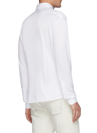 Back View - Click To Enlarge - BRUNELLO CUCINELLI - Jersey Shirt