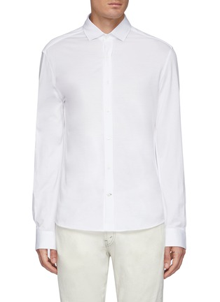 Main View - Click To Enlarge - BRUNELLO CUCINELLI - Jersey Shirt