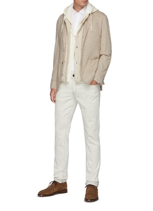 Figure View - Click To Enlarge - BRUNELLO CUCINELLI - Jersey Shirt