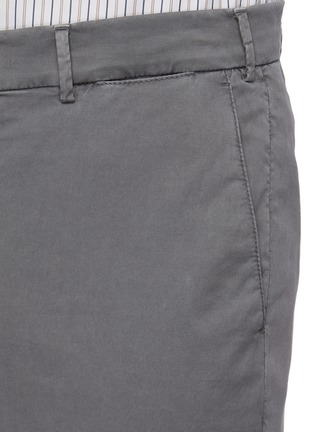 - BRUNELLO CUCINELLI - Slim fit tailored cotton pants