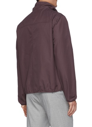 Back View - Click To Enlarge - BRUNELLO CUCINELLI - Light Weight Zipped Blouson