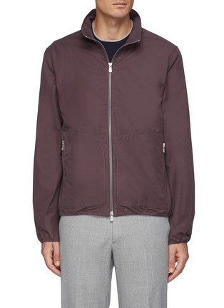 Main View - Click To Enlarge - BRUNELLO CUCINELLI - Light Weight Zipped Blouson