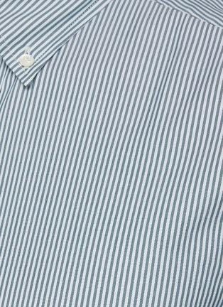 - BRUNELLO CUCINELLI - Panama stripe cotton shirt