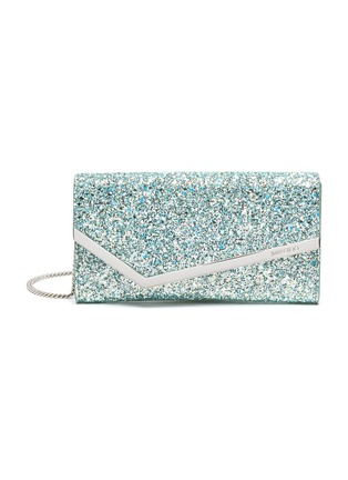 Main View - Click To Enlarge - JIMMY CHOO - 'Emmie' glitter clutch