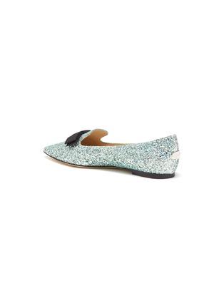 - JIMMY CHOO - 'Gala' glitter degradé loafers