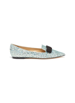 Main View - Click To Enlarge - JIMMY CHOO - 'Gala' glitter degradé loafers