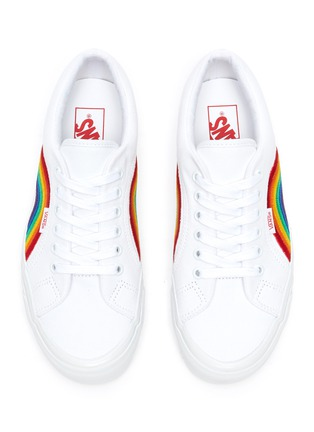 Detail View - Click To Enlarge - VANS - 'Lampin 86 DX' rainbow low top canvas sneakers