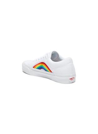 - VANS - 'Lampin 86 DX' rainbow low top canvas sneakers
