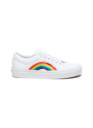 Main View - Click To Enlarge - VANS - 'Lampin 86 DX' rainbow low top canvas sneakers