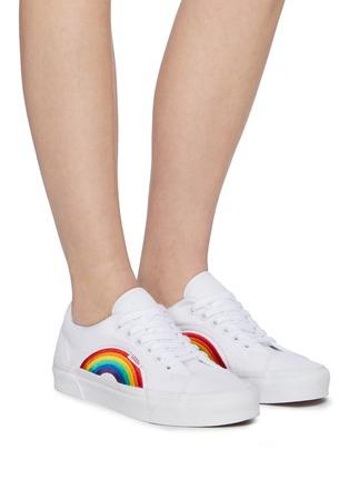Figure View - Click To Enlarge - VANS - 'Lampin 86 DX' rainbow low top canvas sneakers