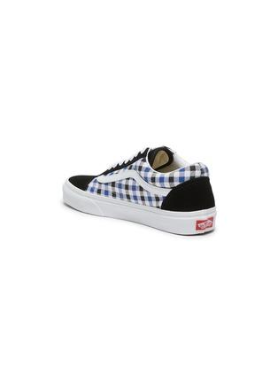 - VANS - Old Skool' gingham print lace up sneakers