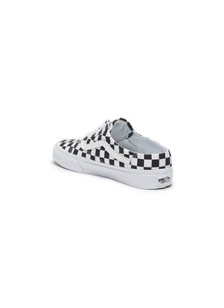 - VANS - 'Old Skool' Checkered Slip-on Mules