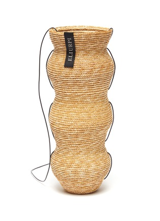 Main View - Click To Enlarge - ELIURPI - 'Triple' Straw Bucket Bag