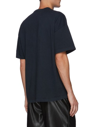 Back View - Click To Enlarge - RHUDE - Crewneck Short Sleeve Graphic T-Shirt