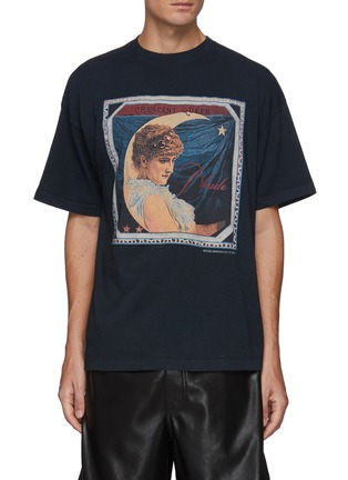 Main View - Click To Enlarge - RHUDE - Crewneck Short Sleeve Graphic T-Shirt