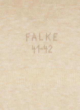 Detail View - Click To Enlarge - FALKE - 'Step' elastane cotton socks