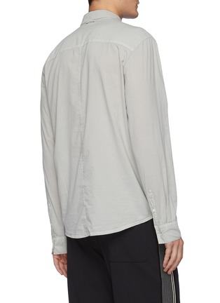 Back View - Click To Enlarge - JAMES PERSE - Cotton Button Up Shirt
