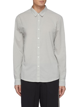 Main View - Click To Enlarge - JAMES PERSE - Cotton Button Up Shirt