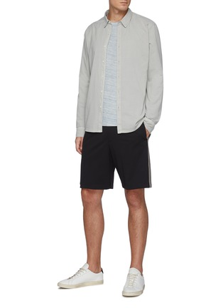 Figure View - Click To Enlarge - JAMES PERSE - Cotton Button Up Shirt