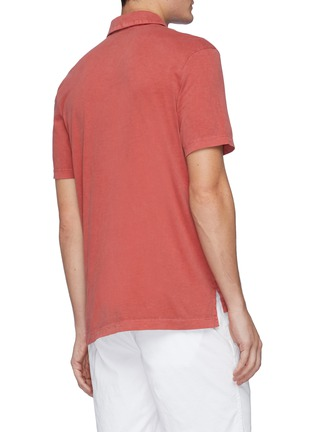 Back View - Click To Enlarge - JAMES PERSE - Supima Cotton Polo Shirt