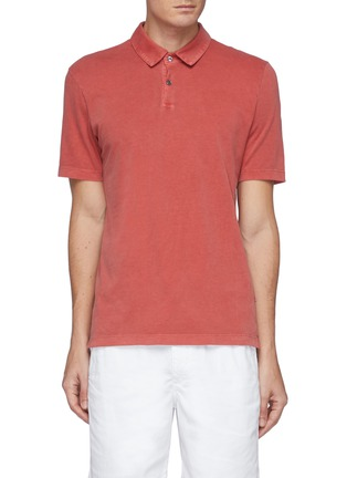Main View - Click To Enlarge - JAMES PERSE - Supima Cotton Polo Shirt