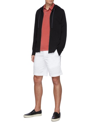 Figure View - Click To Enlarge - JAMES PERSE - Supima Cotton Polo Shirt
