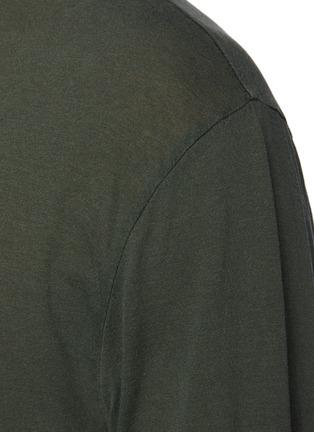 - JAMES PERSE - Cotton Long Sleeved Crewneck T-Shirt