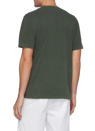 Back View - Click To Enlarge - JAMES PERSE - Cotton Crewneck T-Shirt