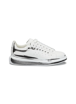 Main View - Click To Enlarge - ALEXANDER MCQUEEN - 'Larry' Printed Leather Sneakers