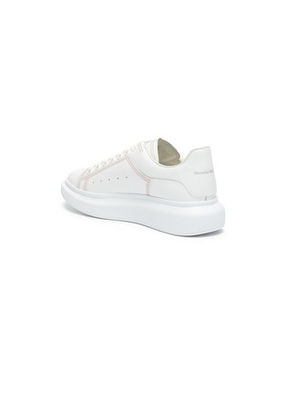 - ALEXANDER MCQUEEN - 'Larry' Rainbow Stitch Leather Sneakers