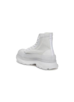 - ALEXANDER MCQUEEN - 'Tread Slick' transparent High top sneakers