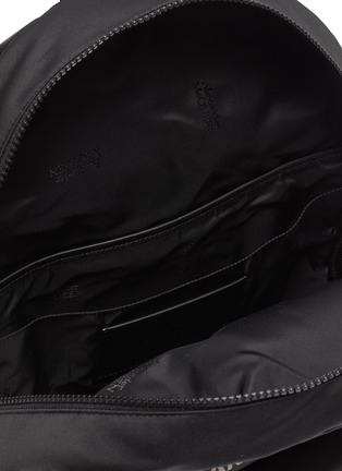 Detail View - Click To Enlarge - ALEXANDER MCQUEEN - Graffiti Logo Print Backpack