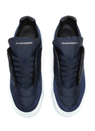 Detail View - Click To Enlarge - ALEXANDER MCQUEEN - Court Pad Sneakers