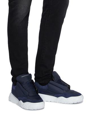 Figure View - Click To Enlarge - ALEXANDER MCQUEEN - Court Pad Sneakers