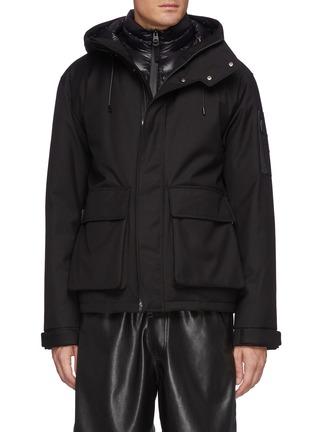 Main View - Click To Enlarge - MACKAGE - Brayden' Hooded Zip Up Jacket