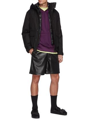 Figure View - Click To Enlarge - MACKAGE - Brayden' Hooded Zip Up Jacket