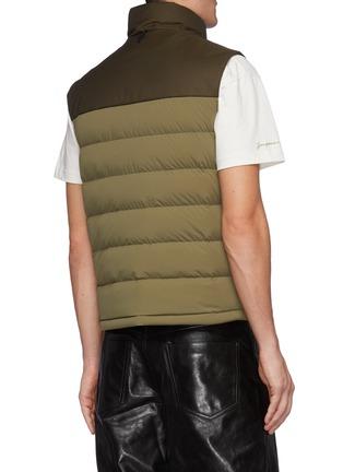 Back View - Click To Enlarge - MACKAGE - Bobbie' Bicoloured Lightweight Down Vest