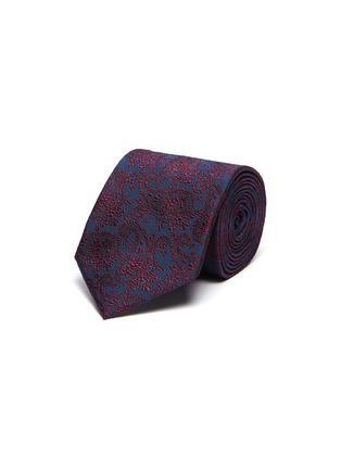 Main View - Click To Enlarge - STEFANOBIGI MILANO - Taro' Paisley Jacquard Silk Twill Tie