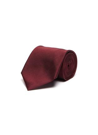 Main View - Click To Enlarge - STEFANOBIGI MILANO - Herringbone Jacquard Silk Tie