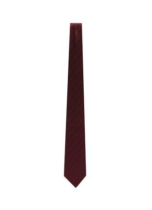 Figure View - Click To Enlarge - STEFANOBIGI MILANO - Herringbone Jacquard Silk Tie