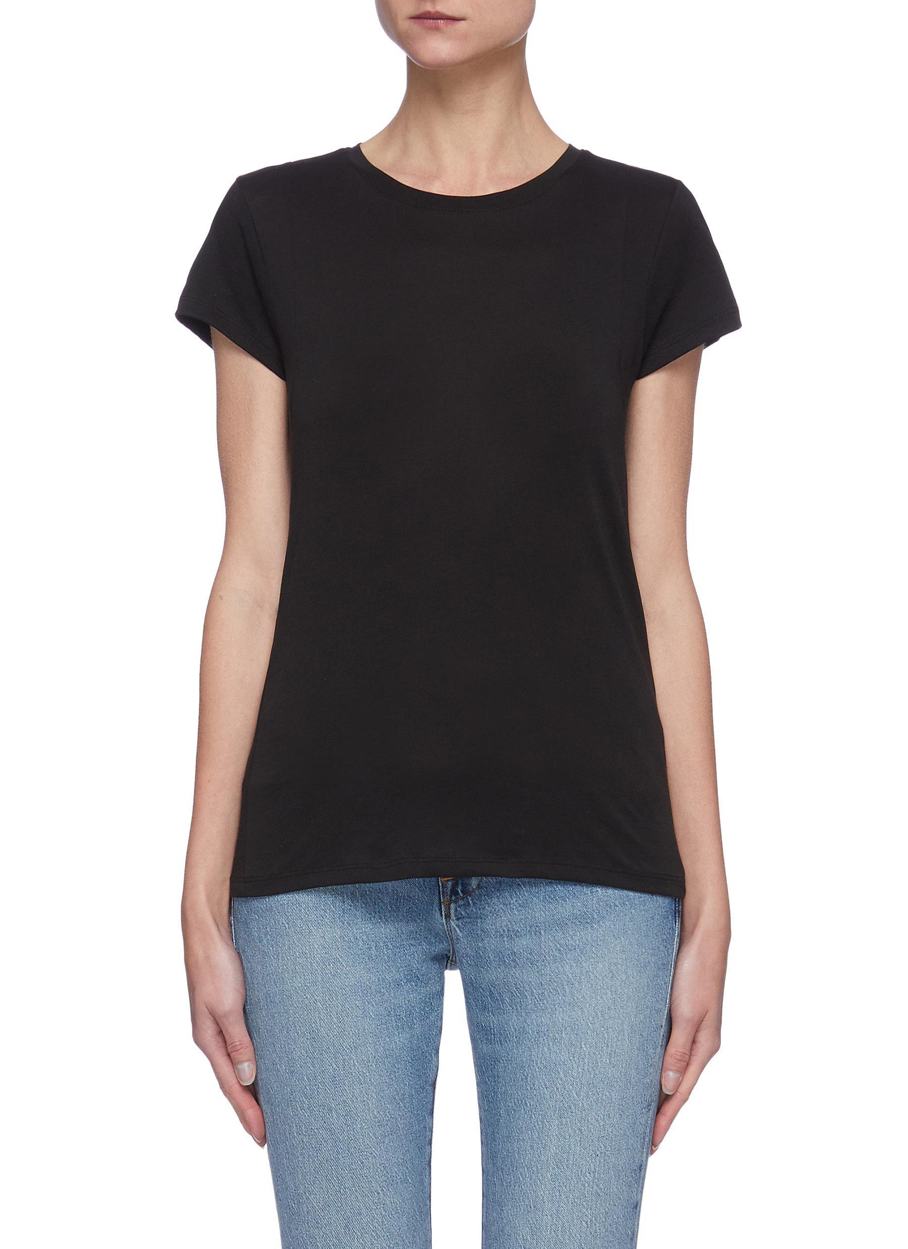 """""Le Mid' Crewneck Organic Pima Cotton T-shirt"""