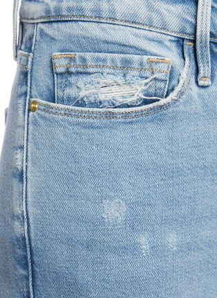 - FRAME DENIM - Le Garcon' distressed crop skinny jeans