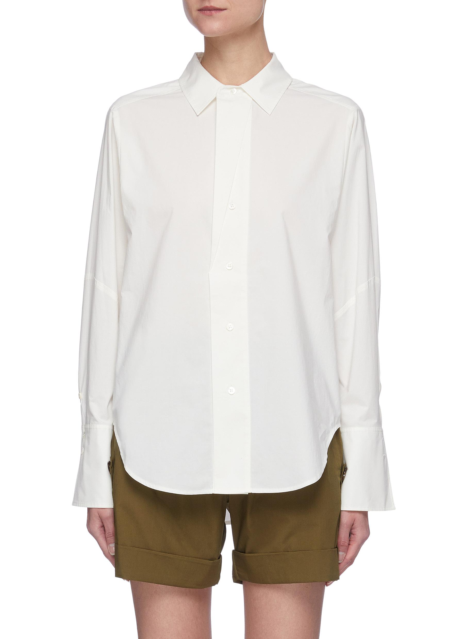 """""""""""The Oversized Shirt' in Cotton"""""""
