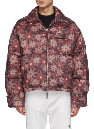 Main View - Click To Enlarge - JACQUEMUS - Doudoune' Flocon Floral Print Puffer Jacket